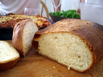 """All sorrows are less with bread."" -- Miguel deCervantes Saavedra"